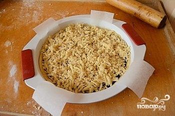 Быстрый песочный пирог с вареньем - фото шаг 4