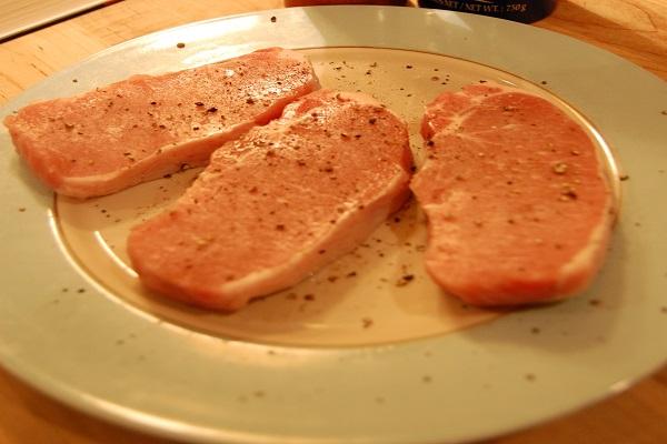 Рецепт Свинина в сливках