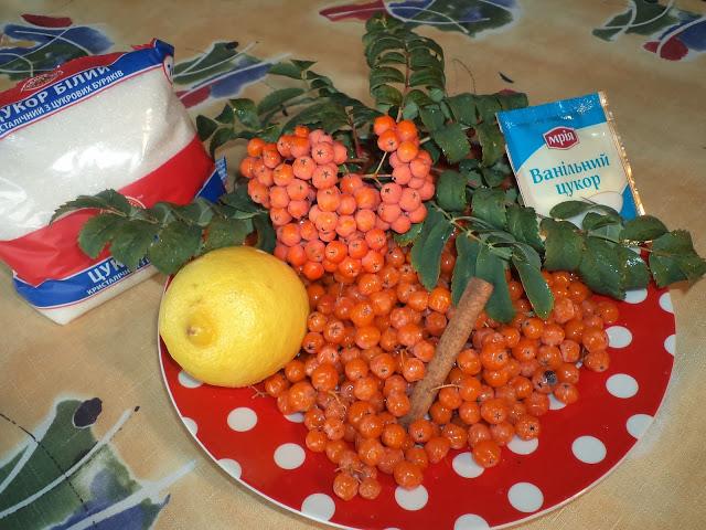 Рецепт Варенье из сладкой рябины