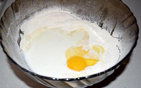 Рецепт Вареники с курицей