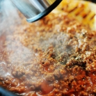 Рецепт Запеченная лапша с томатным соусом и индейкой