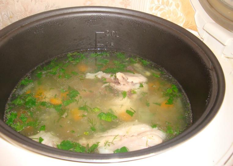 Суп с лапшой в мультиварке - фото шаг 7
