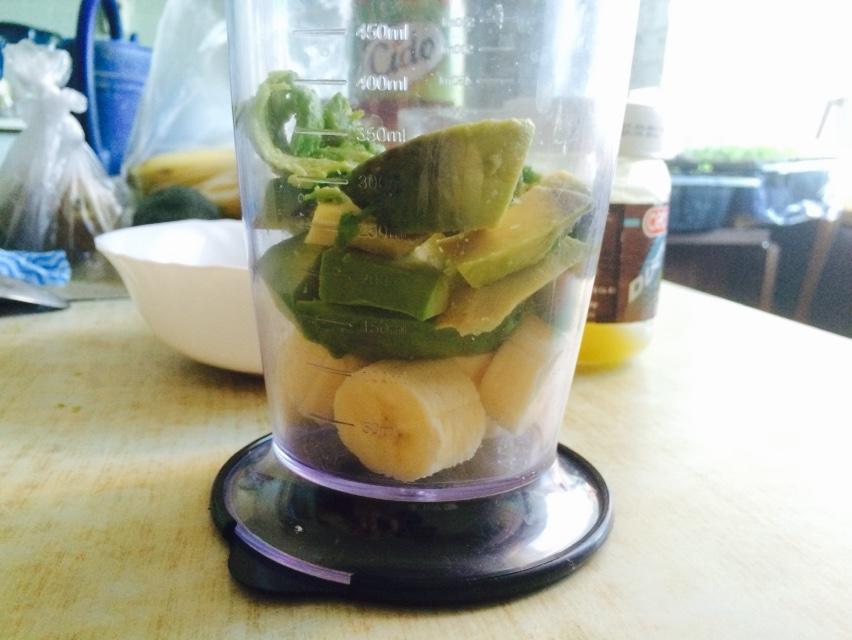 Смузи с авокадо - фото шаг 2