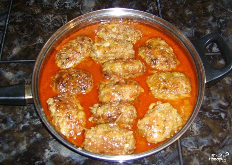 Рецепт Голубцы ленивые с куриным фаршем