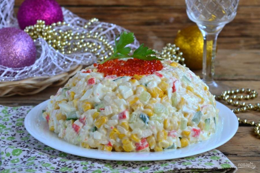 как приготовить крабовый салат пошаговый рецепт