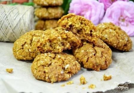 Овсяное печенье из геркулеса - фото шаг 9