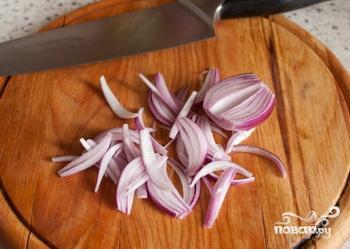Салат с чечевицей и сыром фета - фото шаг 3