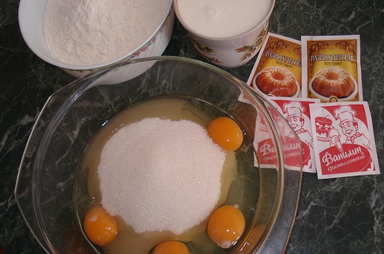 Рецепт Быстрое тесто на кефире