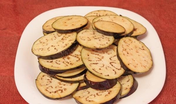 Рецепт Запеченные кабачки с баклажанами