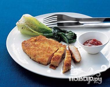 Рецепт Котлеты из свинины с имбирно-соевым соусом