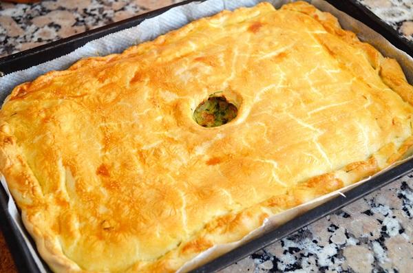 Нежный пирог с капустой - фото шаг 7