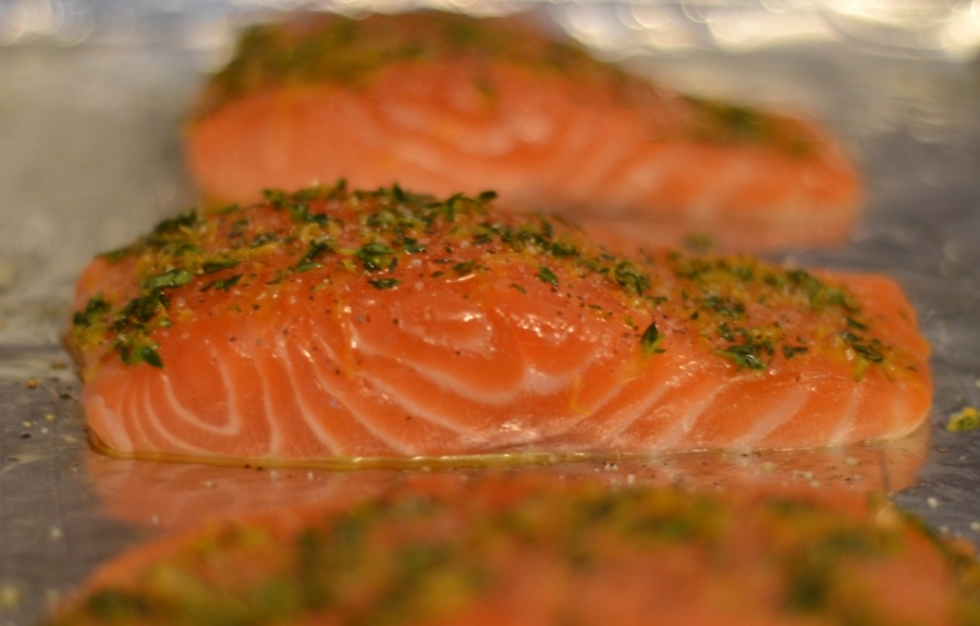 фото запеченной красной рыбы в духовке рецепты с фото
