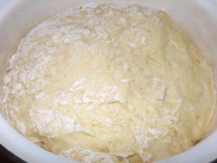 Тесто для печеных пирожков - фото шаг 4