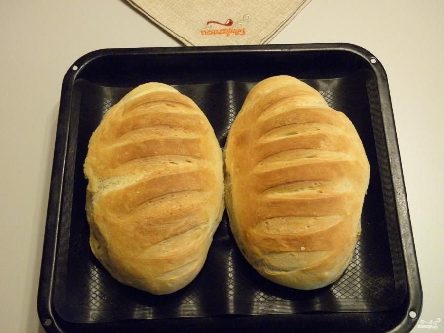 Постный хлеб в духовке - фото шаг 11
