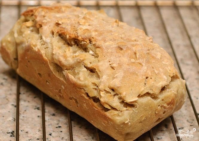 Хлеб на пиве - фото шаг 4
