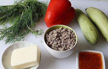 Рецепт Кабачки по-султански