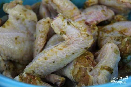 Куриные крылышки с хрустящей корочкой - фото шаг 3