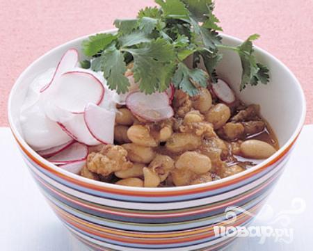 Рецепт Жаркое из индейки и белой фасоли