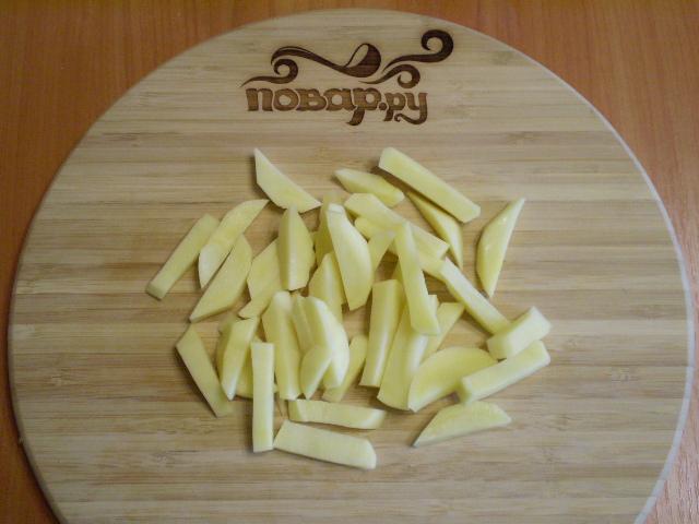 Рыбный суп с плавленым сыром - фото шаг 2