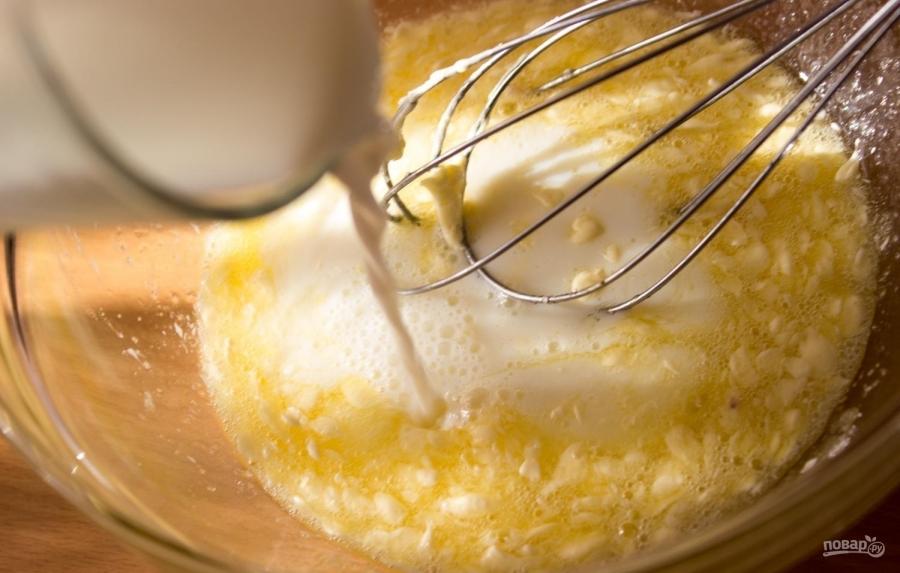 Самый простой рецепт кексов на молоке