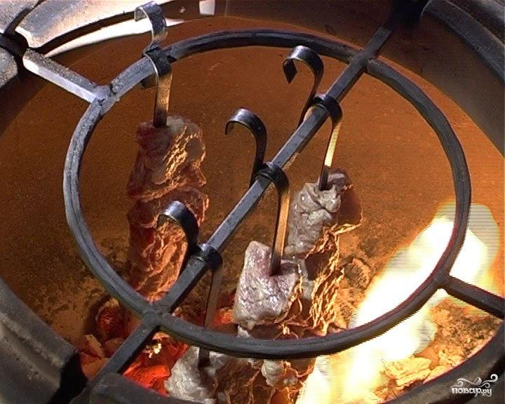 Шашлык в тандыре - фото шаг 4