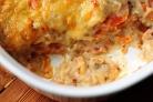 Запеченный сладкий картофель с беконом и сыром