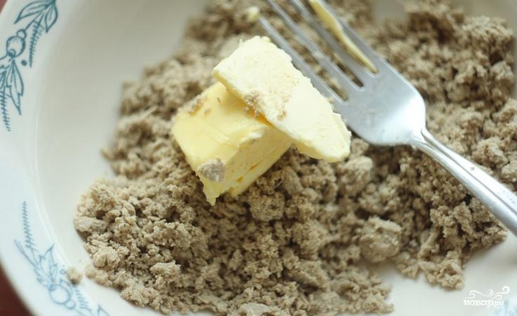 Печенье с халвой - фото шаг 5
