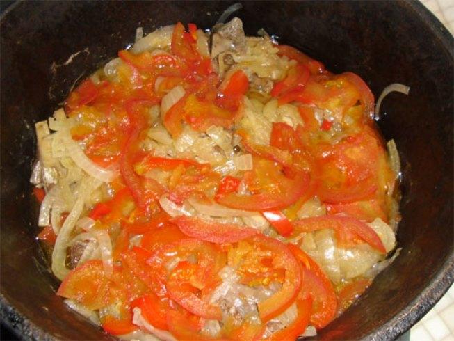 Хашлама из баранины с картофелем   - фото шаг 8