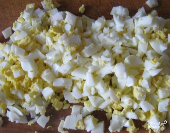Салат с соленой семгой - фото шаг 1