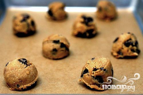 Печенье с кусочками шоколада - фото шаг 2