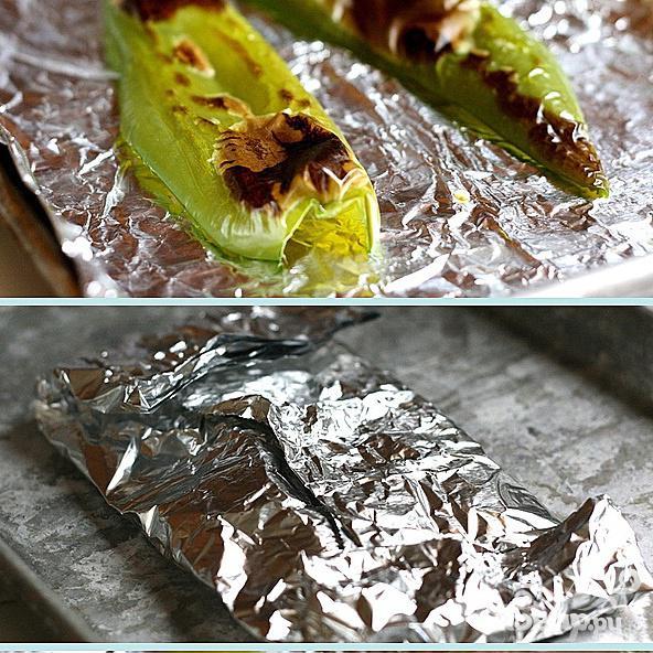 Шашлык из креветок с семечками тыквы - фото шаг 3