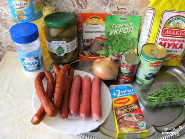 мясная солянка рецепт приготовления в домашних