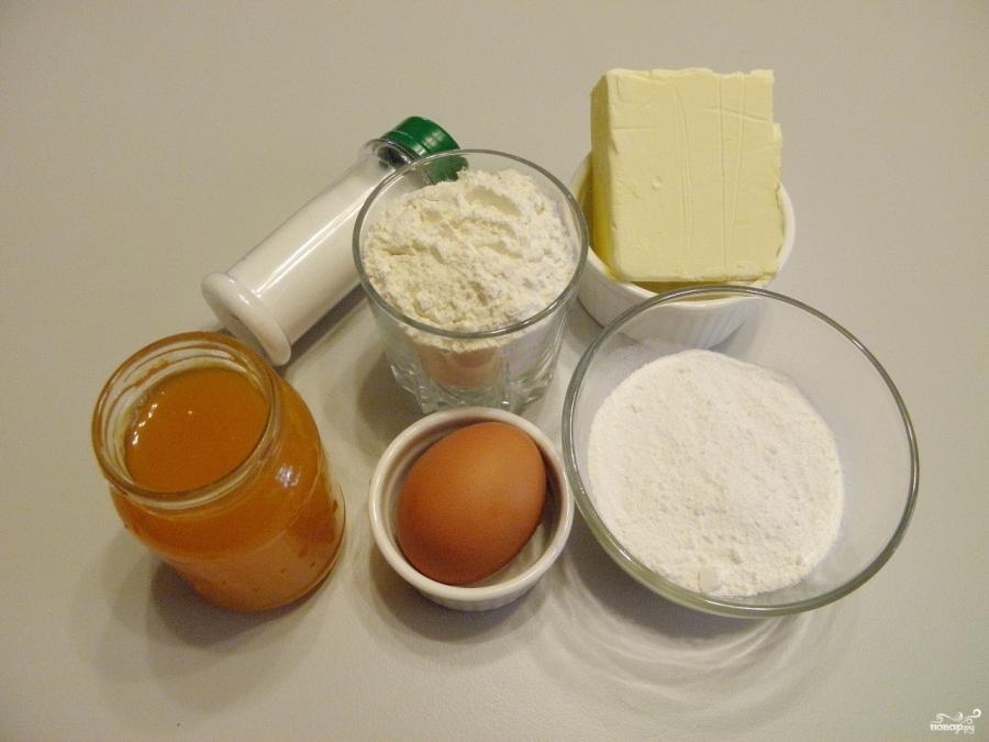 Песочное печенье с вареньем - фото шаг 1