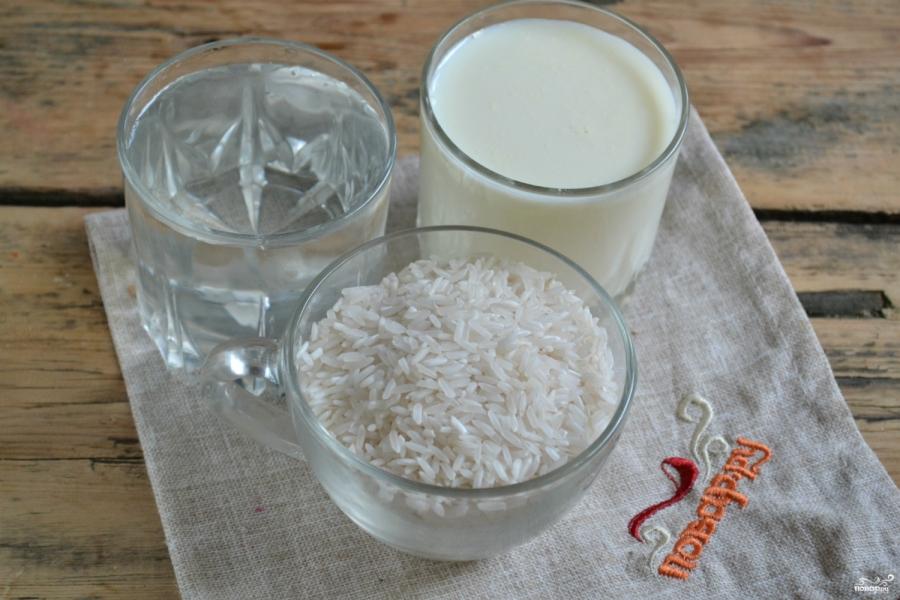 Каша рисовая молочная - фото шаг 1