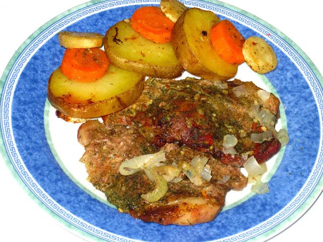 Говядина в рукаве с овощами - фото шаг 6