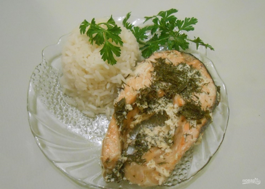 рецепт рыбы под соусом в духовке рецепт с фото