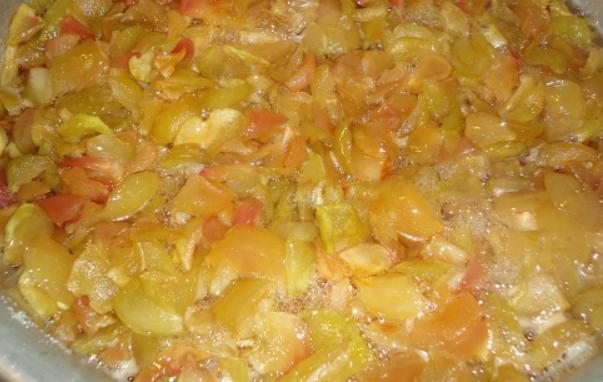 Варенье из яблок кусочками - фото шаг 2