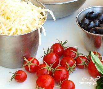 Киш с томатами и моцареллой - фото шаг 3
