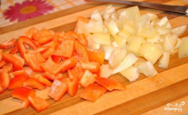 Картофель с мясом и овощами - фото шаг 5