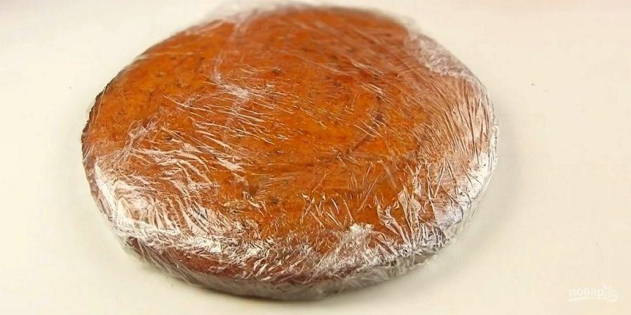 Морковный бархатный торт