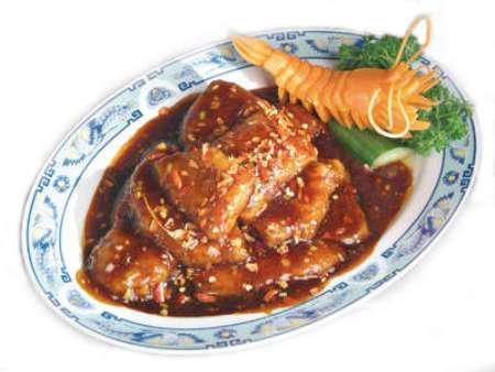 Рецепт Рыба-меч с соусом из каперсов