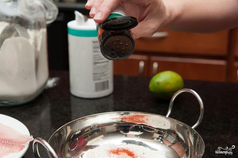 Рецепт Филе рыбы в кляре