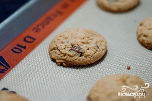 Печенье с шоколадом и маршмэллоу - фото шаг 3