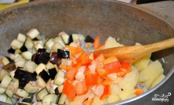 Картофель с мясом и овощами - фото шаг 15