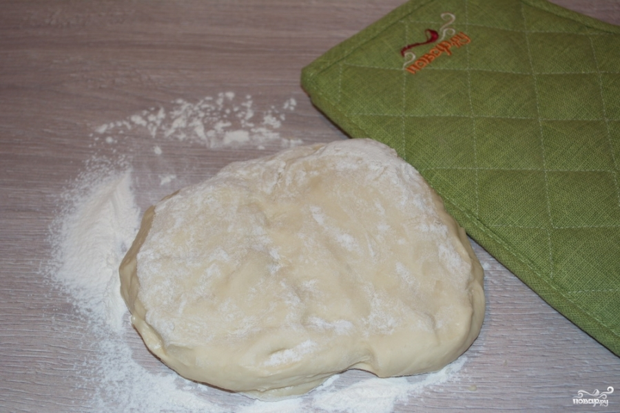 Пирог с яблоками из дрожжевого теста  - фото шаг 1