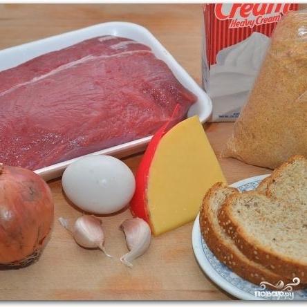 Рецепт Говяжьи котлеты с сыром