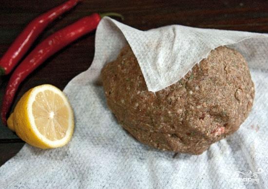 Люля-кебаб из говядины на шампурах - фото шаг 3