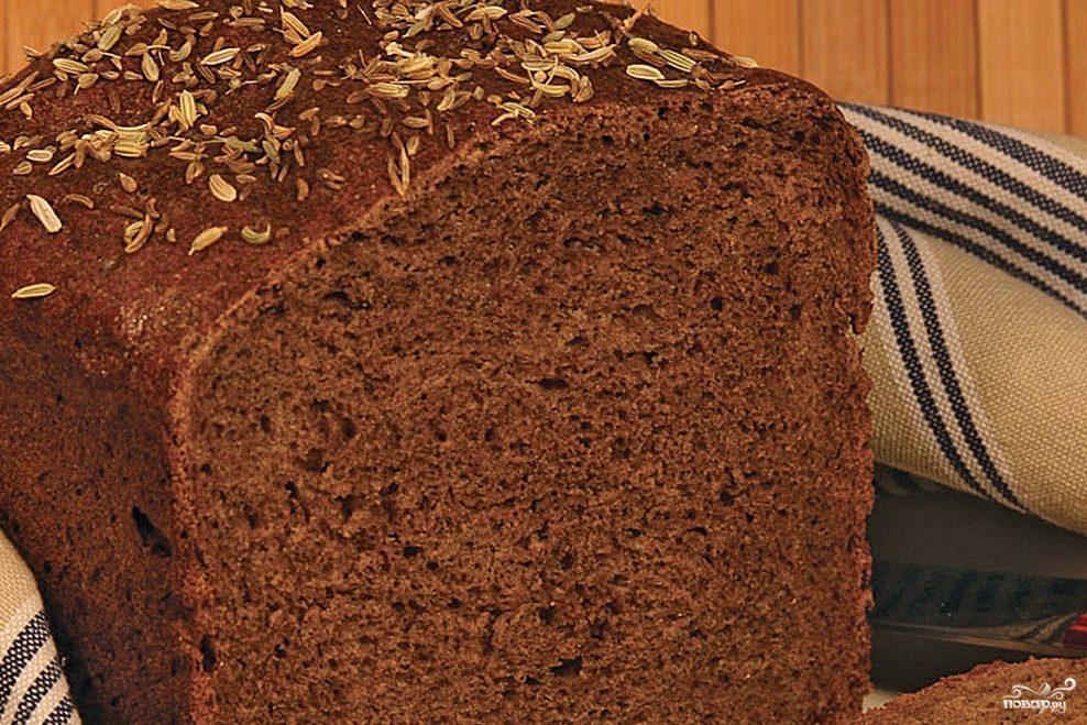 Хлеб рижский в хлебопечке