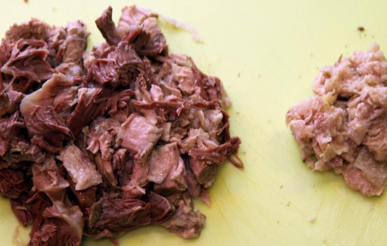 Борщ рецепт классический с мясом - фото шаг 6