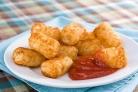 Картофельные крокеты с ветчиной